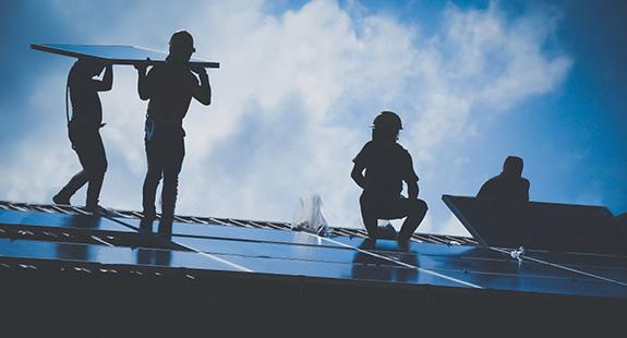 Solarni paneli montaza